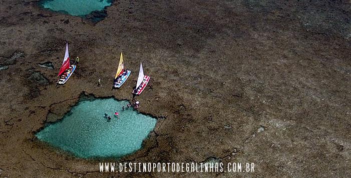 foto aerea porto de galinhas